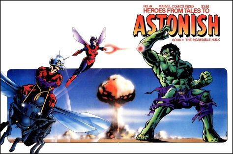 The Marvel Comics Index #7A, Heroes from Tales to Astonish