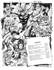 The Marvel Comics Index #5, The Mighty Thor contents page