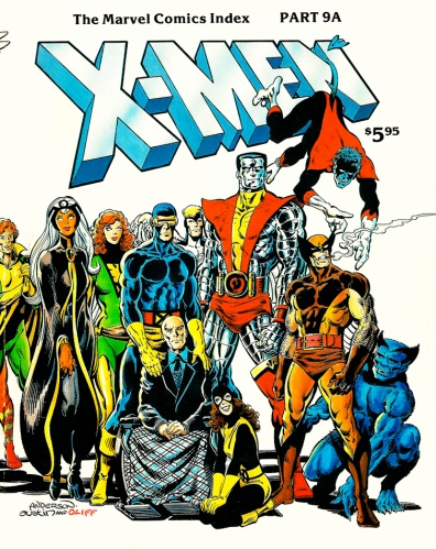 The Marvel Comics Index #9A, X-Men