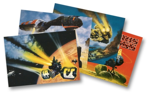 Chris Foss Trading Cards