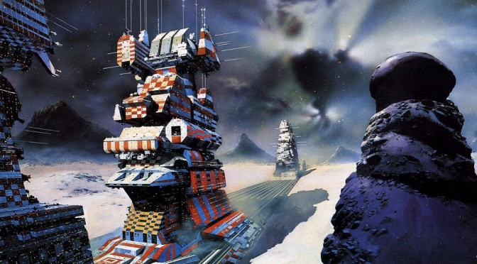 Chris Foss Trading Cards, #61-80 (1995)