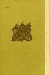 Kaabik, back cover to the Estonian edition of The Hobbit by JRR Tolkien
