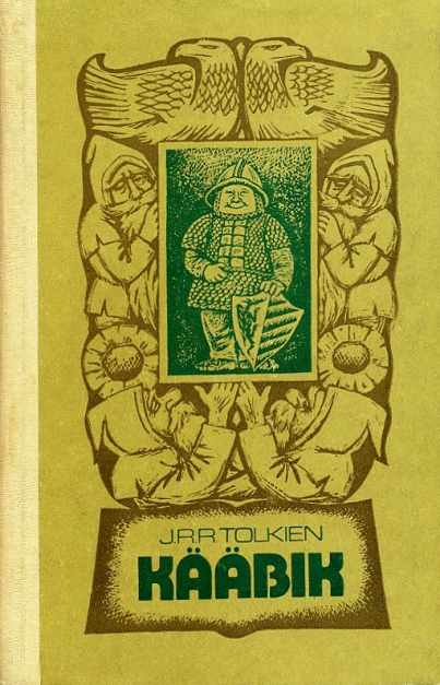 Kaabik, cover to the Estonian edition of The Hobbit by JRR Tolkien