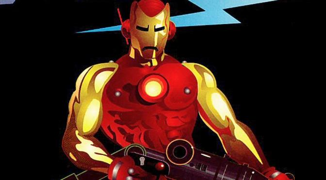 Iron Man: Crash graphic novel (1988)