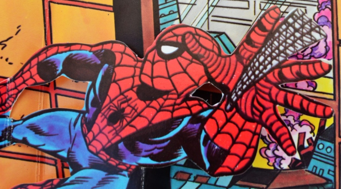 "Spider-Man ""The Schemer Strikes!"" pop-up book (1982)"