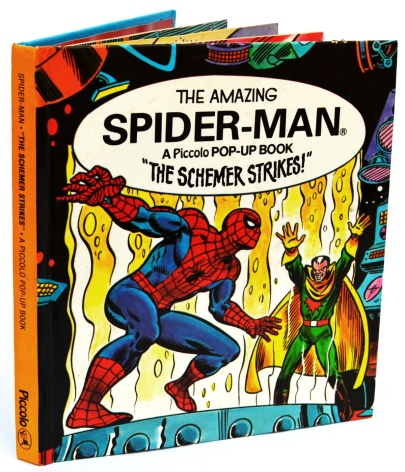 Spider-Man, The Schemer Strikes, front cover