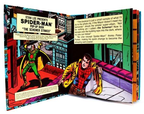 Spider-Man, The Schemer Strikes
