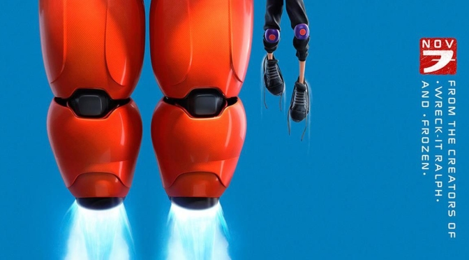 Big Hero 6 teaser poster (2014)