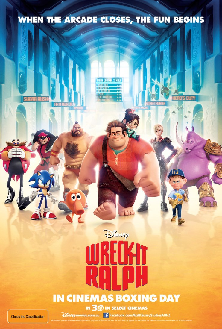 WreckIt Ralph teaser poster 2012  TAINT THE MEAT