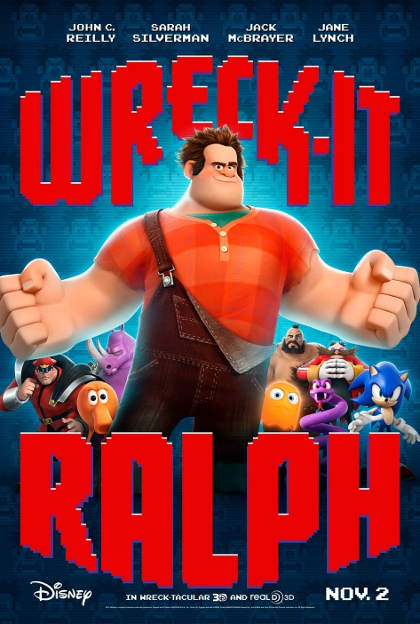 Wreck-It Ralph poster US