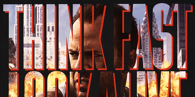 Die Hard with a Vengeance teaser poster