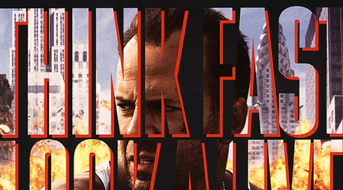 Die Hard with a Vengeance teaser poster (1995)