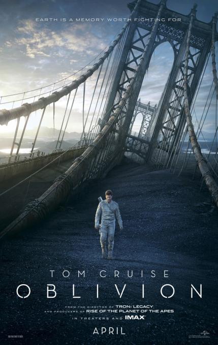 Oblivion movie poster (2013)