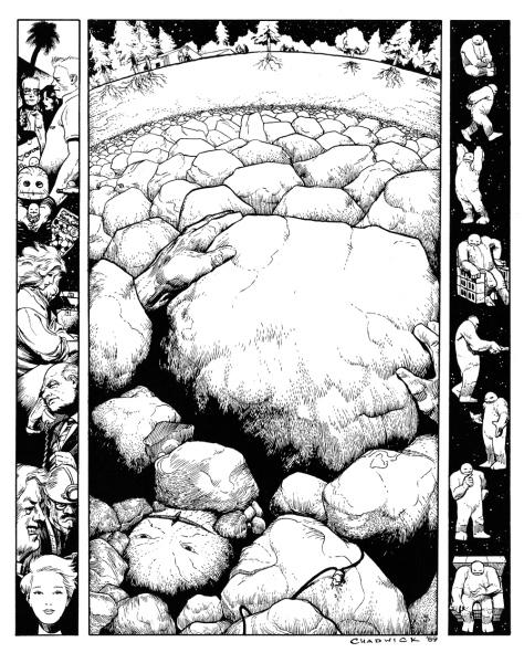 Paul Chadwick's Concrete Portfolio, plate 1