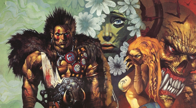 Sláine: The Horned God Portfolio by Simon Bisley (1995)
