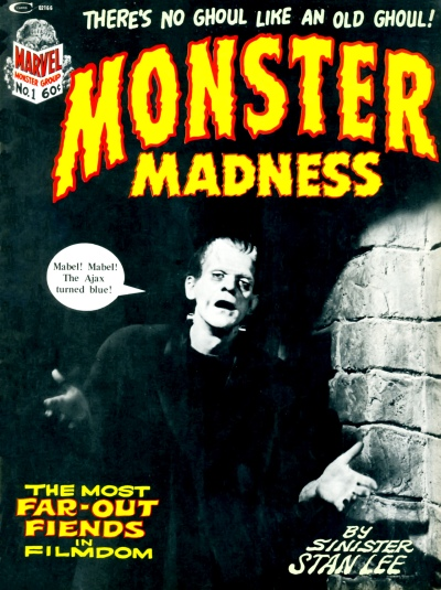 Monster Madness issue 1 cover