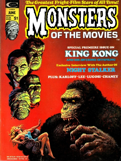 Monsters of the Movies issue 1