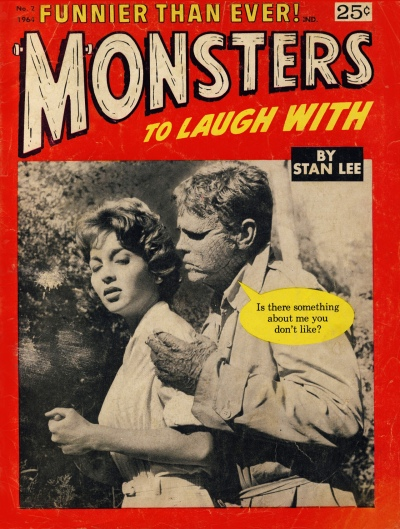 Monsters to Laugh With 02 cover