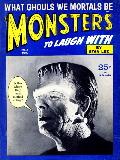 Monsters to Laugh With 03 cover