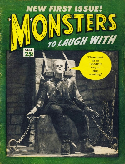 Monsters to Laugh With issue 1