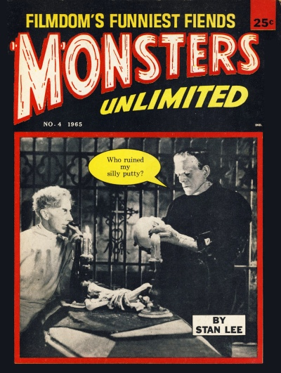 Monsters Unlimited issue 4