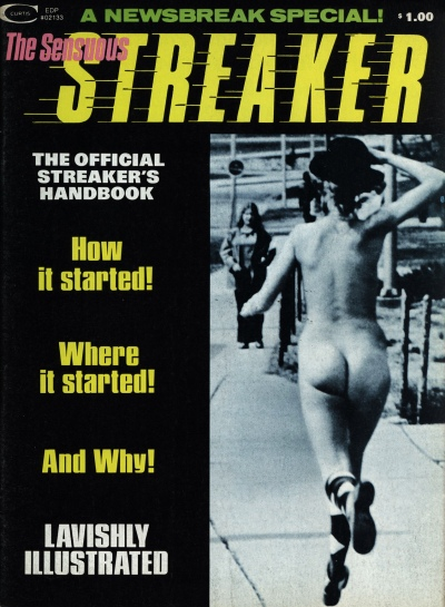 The Sensuous Streaker, cover