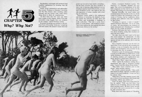 The Sensuous Streaker, pages 60-61