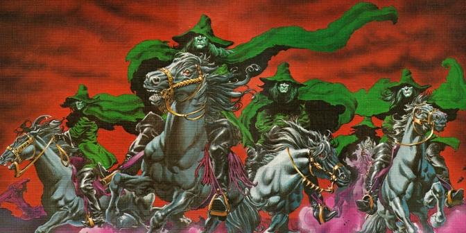 weirdworld  warriors of the shadow realm portfolio  1979