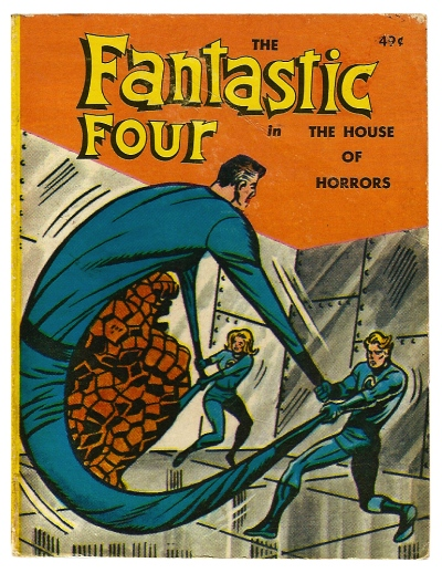The Fantastic Four in The House of Horrors