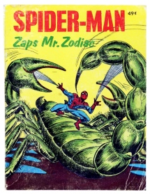 Spider-Man Zaps Mr Zodiac, front cover
