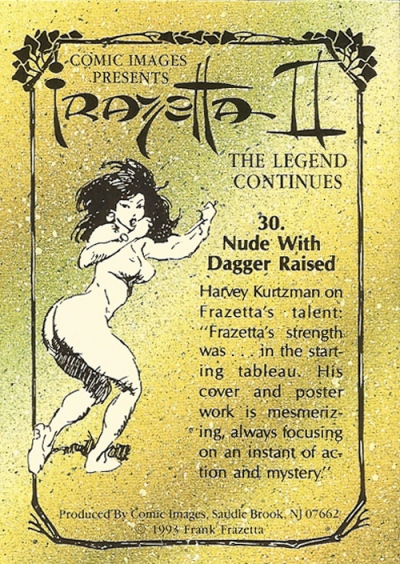 frazetta-ii-trading-cards-30b-new