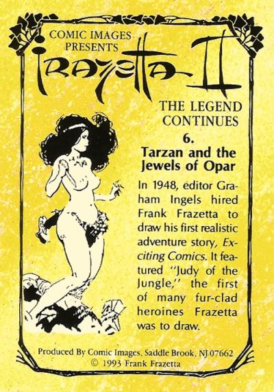 Frazetta II Trading Cards