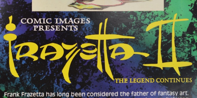 Frazetta II: The Legend Continues Trading Cards #1-20 (1993)