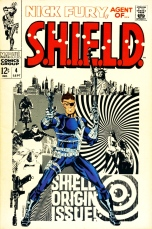 Nick Fury, Agent of SHIELD, issue #4