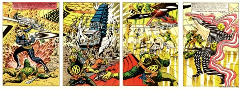 Page 4, 5,6 and 7 from Strange Tales #167