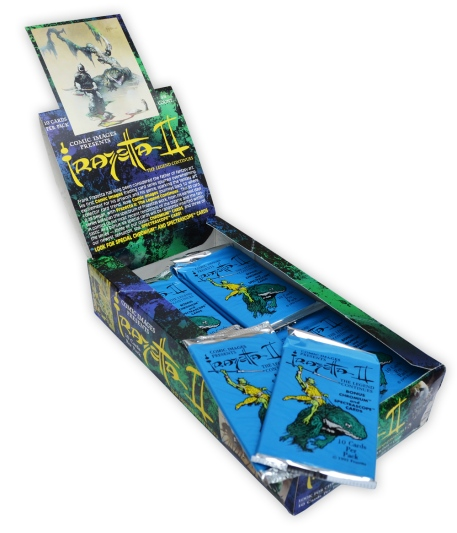 frazetta-ii-trading-cards-box-and-wrappers