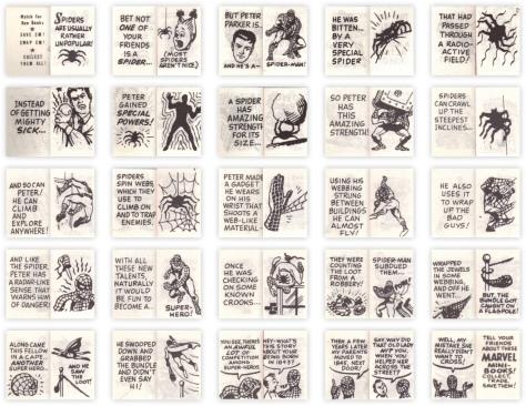 spider-man-mini-book