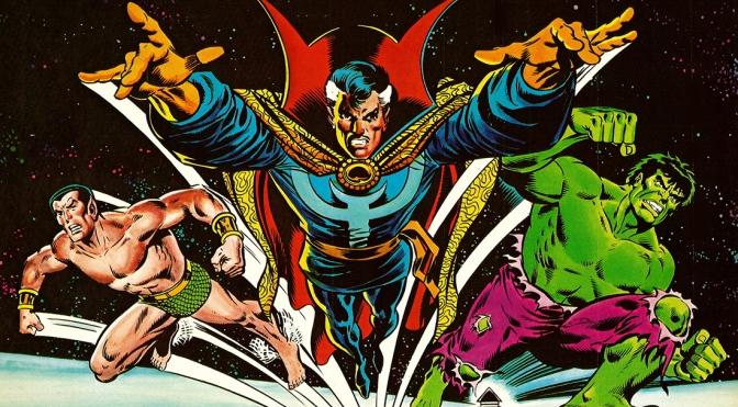 Marvel Comics Calendar 1980: The Occult World of Doctor Strange
