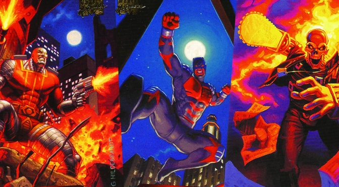 Marvel Masterpieces 1994 Edition Trading Cards by The Hildebrandt Brothers, cards #26-50