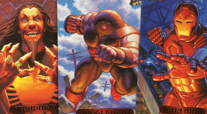Marvel Masterpieces 1994 Edition Trading Cards by The Hildebrandt Brothers, cards #51-75