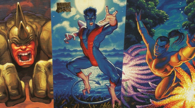 Marvel Masterpieces 1994 Edition Trading Cards by The Hildebrandt Brothers, cards #76-100