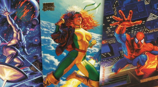 Marvel Masterpieces 1994 Edition Trading Cards by The Hildebrandt Brothers, cards #101-120