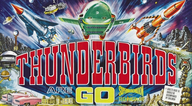 Thunderbirds Are GO and Thunderbird 6 movie posters