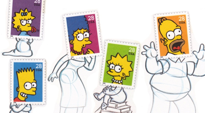 The Simpsons Stamps (2009)