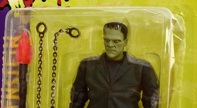 Universal Studios Monsters: Frankenstein action figure by Sideshow Toy (1999)