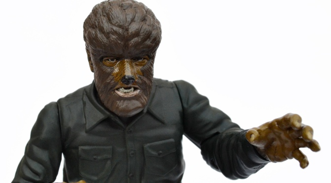 Universal Studios Monsters: The Wolf Man action figure by Sideshow Toy (1999)