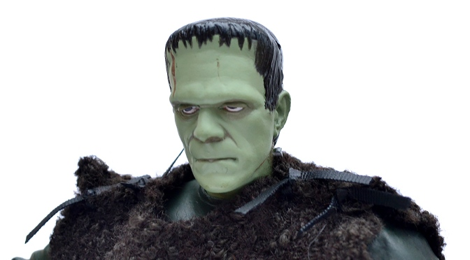 Universal Studios Monsters: Son of Frankenstein action figure by Sideshow Toy (2000)