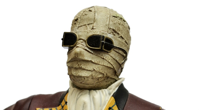 Universal Studios Monsters: The Invisible Man action figure by Sideshow Toy (2000)