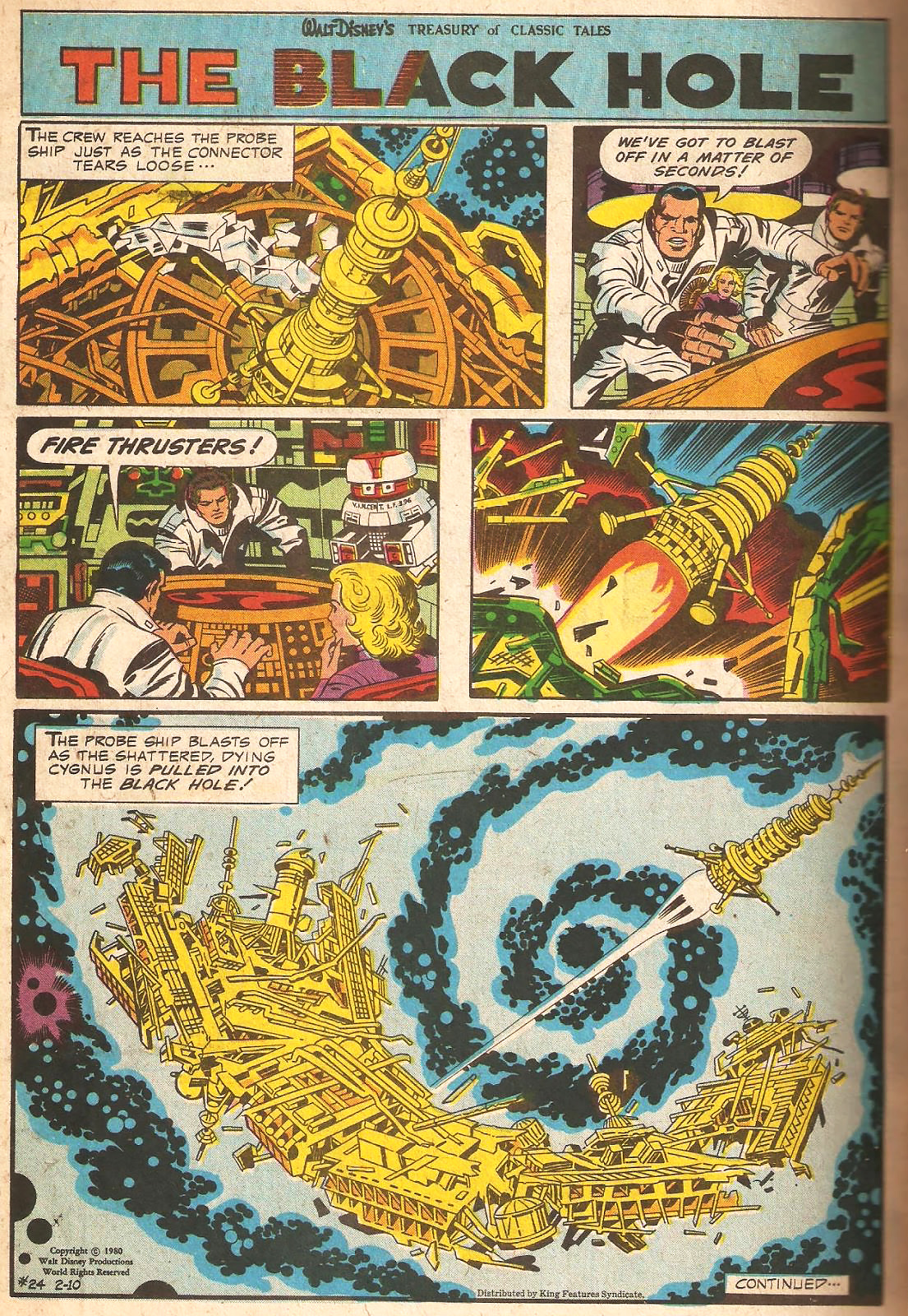 The Black Hole By Jack Kirby Tain T The Meat It S The
