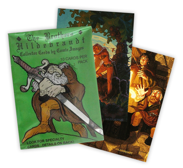 THE BROTHERS HILDEBRANDT MEDALLION CARD
